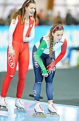 Subject: Francesca Bettrone, Kaja Ziomek; Tags: Athlet, Athlete, Sportler, Wettkämpfer, Sportsman, Damen, Ladies, Frau, Mesdames, Female, Women, Eisschnelllauf, Speed skating, Schaatsen, Francesca Bettrone, ITA, Italy, Italien, Kaja Ziomek, POL, Poland, Polen, Sport; PhotoID: 2018-01-20-0300