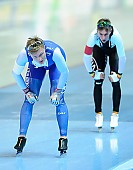 Subject: Bart Swings, Håvard Bøkko; Tags: Athlet, Athlete, Sportler, Wettkämpfer, Sportsman, BEL, Belgium, Belgien, Bart Swings, Eisschnelllauf, Speed skating, Schaatsen, Herren, Men, Gentlemen, Mann, Männer, Gents, Sirs, Mister, Håvard Bøkko, NOR, Norway, Norwegen, Sport; PhotoID: 2018-01-20-0545
