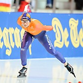 Subject: Linda de Vries; Tags: Athlet, Athlete, Sportler, Wettkämpfer, Sportsman, Damen, Ladies, Frau, Mesdames, Female, Women, Eisschnelllauf, Speed skating, Schaatsen, Linda de Vries, NED, Netherlands, Niederlande, Holland, Dutch, Sport; PhotoID: 2018-01-20-0640