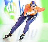 Subject: Linda de Vries; Tags: Athlet, Athlete, Sportler, Wettkämpfer, Sportsman, Damen, Ladies, Frau, Mesdames, Female, Women, Eisschnelllauf, Speed skating, Schaatsen, Linda de Vries, NED, Netherlands, Niederlande, Holland, Dutch, Sport; PhotoID: 2018-01-20-0641