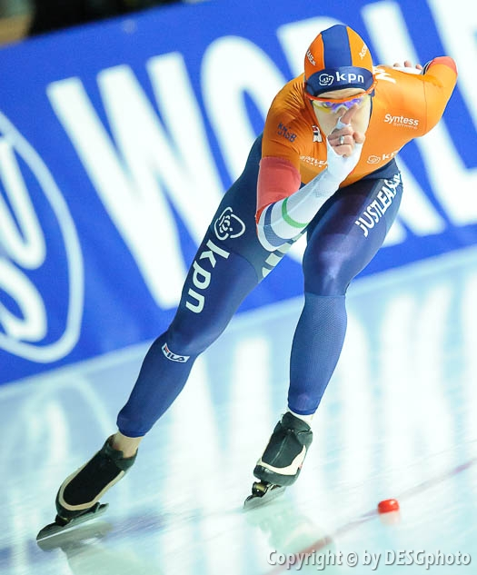 Ireen Wüst; Tags: Athlet, Athlete, Sportler, Wettkämpfer, Sportsman, Damen, Ladies, Frau, Mesdames, Female, Women, Eisschnelllauf, Speed skating, Schaatsen, Ireen Wüst, NED, Netherlands, Niederlande, Holland, Dutch, Sport; PhotoID: 2018-01-20-0718