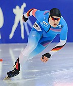 Subject: Hendrik Dombek; Tags: Athlet, Athlete, Sportler, Wettkämpfer, Sportsman, Eisschnelllauf, Speed skating, Schaatsen, GER, Germany, Deutschland, Hendrik Dombek, Herren, Men, Gentlemen, Mann, Männer, Gents, Sirs, Mister, Sport; PhotoID: 2018-01-21-0043