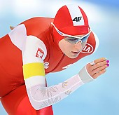 Subject: Natalia Czerwonka; Tags: Athlet, Athlete, Sportler, Wettkämpfer, Sportsman, Damen, Ladies, Frau, Mesdames, Female, Women, Eisschnelllauf, Speed skating, Schaatsen, Natalia Czerwonka, POL, Poland, Polen, Sport; PhotoID: 2018-01-21-0174