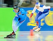 Subject: Gabriele Hirschbichler, Yuliya Skokova; Tags: Athlet, Athlete, Sportler, Wettkämpfer, Sportsman, Damen, Ladies, Frau, Mesdames, Female, Women, Eisschnelllauf, Speed skating, Schaatsen, GER, Germany, Deutschland, Gabriele Hirschbichler, Sport, Yuliya Skokova; PhotoID: 2018-01-21-0188