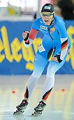 Subject: Gabriele Hirschbichler; Tags: Athlet, Athlete, Sportler, Wettkämpfer, Sportsman, Damen, Ladies, Frau, Mesdames, Female, Women, Eisschnelllauf, Speed skating, Schaatsen, GER, Germany, Deutschland, Gabriele Hirschbichler, Sport; PhotoID: 2018-01-21-0193