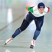 Subject: Deborah Grisenti; Tags: Athlet, Athlete, Sportler, Wettkämpfer, Sportsman, Damen, Ladies, Frau, Mesdames, Female, Women, Deborah Grisenti, Eisschnelllauf, Speed skating, Schaatsen, ITA, Italy, Italien, Sport; PhotoID: 2018-01-21-0203
