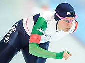 Subject: Deborah Grisenti; Tags: Athlet, Athlete, Sportler, Wettkämpfer, Sportsman, Damen, Ladies, Frau, Mesdames, Female, Women, Deborah Grisenti, Eisschnelllauf, Speed skating, Schaatsen, ITA, Italy, Italien, Sport; PhotoID: 2018-01-21-0204