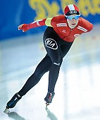Subject: Elena Møller Rigas; Tags: Sport, Elena Møller-Rigas, Eisschnelllauf, Speed skating, Schaatsen, Damen, Ladies, Frau, Mesdames, Female, Women, DEN, Denmark, Dänemark, Athlet, Athlete, Sportler, Wettkämpfer, Sportsman; PhotoID: 2018-01-21-0227