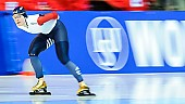 Subject: Gloria Malfatti; Tags: Athlet, Athlete, Sportler, Wettkämpfer, Sportsman, Damen, Ladies, Frau, Mesdames, Female, Women, Eisschnelllauf, Speed skating, Schaatsen, Gloria Malfatti, ITA, Italy, Italien, Sport; PhotoID: 2018-01-21-0240