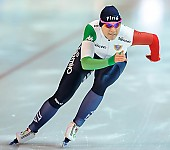 Subject: Yvonne Daldossi; Tags: Athlet, Athlete, Sportler, Wettkämpfer, Sportsman, Damen, Ladies, Frau, Mesdames, Female, Women, Eisschnelllauf, Speed skating, Schaatsen, ITA, Italy, Italien, Sport, Yvonne Daldossi; PhotoID: 2018-01-21-0544