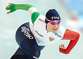 Subject: Yvonne Daldossi; Tags: Athlet, Athlete, Sportler, Wettkämpfer, Sportsman, Damen, Ladies, Frau, Mesdames, Female, Women, Eisschnelllauf, Speed skating, Schaatsen, ITA, Italy, Italien, Sport, Yvonne Daldossi; PhotoID: 2018-01-21-0545