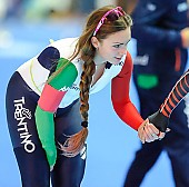 Subject: Francesca Bettrone; Tags: Athlet, Athlete, Sportler, Wettkämpfer, Sportsman, Damen, Ladies, Frau, Mesdames, Female, Women, Eisschnelllauf, Speed skating, Schaatsen, Francesca Bettrone, ITA, Italy, Italien, Sport; PhotoID: 2018-01-21-0560