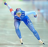 Subject: Hege Bøkko; Tags: Athlet, Athlete, Sportler, Wettkämpfer, Sportsman, Damen, Ladies, Frau, Mesdames, Female, Women, Eisschnelllauf, Speed skating, Schaatsen, Hege Bøkko, NOR, Norway, Norwegen, Sport; PhotoID: 2018-01-21-0592