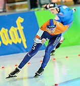 Motiv: Melissa Wijfje; Tags: Athlet, Athlete, Sportler, Wettkämpfer, Sportsman, Damen, Ladies, Frau, Mesdames, Female, Women, Eisschnelllauf, Speed skating, Schaatsen, Melissa Wijfje, NED, Netherlands, Niederlande, Holland, Dutch, Sport; PhotoID: 2018-01-21-0708