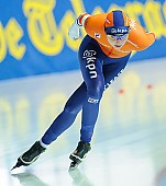 Motiv: Melissa Wijfje; Tags: Athlet, Athlete, Sportler, Wettkämpfer, Sportsman, Damen, Ladies, Frau, Mesdames, Female, Women, Eisschnelllauf, Speed skating, Schaatsen, Melissa Wijfje, NED, Netherlands, Niederlande, Holland, Dutch, Sport; PhotoID: 2018-01-21-0710