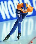Motiv: Melissa Wijfje; Tags: Athlet, Athlete, Sportler, Wettkämpfer, Sportsman, Damen, Ladies, Frau, Mesdames, Female, Women, Eisschnelllauf, Speed skating, Schaatsen, Melissa Wijfje, NED, Netherlands, Niederlande, Holland, Dutch, Sport; PhotoID: 2018-01-21-0712