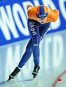 Motiv: Melissa Wijfje; Tags: Athlet, Athlete, Sportler, Wettkämpfer, Sportsman, Damen, Ladies, Frau, Mesdames, Female, Women, Eisschnelllauf, Speed skating, Schaatsen, Melissa Wijfje, NED, Netherlands, Niederlande, Holland, Dutch, Sport; PhotoID: 2018-01-21-0718