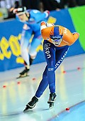 Motiv: Melissa Wijfje; Tags: Athlet, Athlete, Sportler, Wettkämpfer, Sportsman, Damen, Ladies, Frau, Mesdames, Female, Women, Eisschnelllauf, Speed skating, Schaatsen, Melissa Wijfje, NED, Netherlands, Niederlande, Holland, Dutch, Sport; PhotoID: 2018-01-21-0719