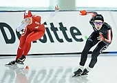 Subject: Alexa Scott, Kaja Gajewska; Tags: Sport, POL, Poland, Polen, Kaja Gajewska, Eisschnelllauf, Speed skating, Schaatsen, Damen, Ladies, Frau, Mesdames, Female, Women, CAN, Canada, Kanada, Athlet, Athlete, Sportler, Wettkämpfer, Sportsman, Alexa Scott; PhotoID: 2018-03-09-0031
