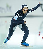 Subject: Jamie Nielson; Tags: USA, United States, Vereinigte Staaten von Amerika, Sport, Jamie Nielson, Eisschnelllauf, Speed skating, Schaatsen, Damen, Ladies, Frau, Mesdames, Female, Women, Athlet, Athlete, Sportler, Wettkämpfer, Sportsman; PhotoID: 2018-03-09-0081