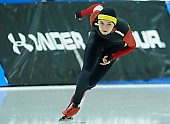 Subject: Mihaela Hogas; Tags: Sport, ROU, Romania, Rumänien, Mihaela Hogas, Eisschnelllauf, Speed skating, Schaatsen, Damen, Ladies, Frau, Mesdames, Female, Women, Athlet, Athlete, Sportler, Wettkämpfer, Sportsman; PhotoID: 2018-03-09-0109