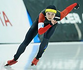 Subject: Mihaela Hogas; Tags: Sport, ROU, Romania, Rumänien, Mihaela Hogas, Eisschnelllauf, Speed skating, Schaatsen, Damen, Ladies, Frau, Mesdames, Female, Women, Athlet, Athlete, Sportler, Wettkämpfer, Sportsman; PhotoID: 2018-03-09-0110