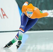 Subject: Michelle de Jong; Tags: Sport, NED, Netherlands, Niederlande, Holland, Dutch, Michelle de Jong, Eisschnelllauf, Speed skating, Schaatsen, Damen, Ladies, Frau, Mesdames, Female, Women, Athlet, Athlete, Sportler, Wettkämpfer, Sportsman; PhotoID: 2018-03-09-0237
