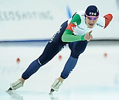 Subject: Francesco Betti; Tags: Sport, ITA, Italy, Italien, Herren, Men, Gentlemen, Mann, Männer, Gents, Sirs, Mister, Francesco Betti, Eisschnelllauf, Speed skating, Schaatsen, Athlet, Athlete, Sportler, Wettkämpfer, Sportsman; PhotoID: 2018-03-09-0538