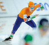 Subject: Michelle de Jong; Tags: Sport, NED, Netherlands, Niederlande, Holland, Dutch, Michelle de Jong, Eisschnelllauf, Speed skating, Schaatsen, Damen, Ladies, Frau, Mesdames, Female, Women, Athlet, Athlete, Sportler, Wettkämpfer, Sportsman; PhotoID: 2018-03-09-0611