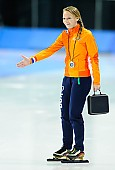 Subject: Jetske Wiersma; Tags: Trainer, Coach, Betreuer, Sport, NED, Netherlands, Niederlande, Holland, Dutch, Jetske Wiersma, Eisschnelllauf, Speed skating, Schaatsen; PhotoID: 2018-03-09-0620