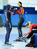 Subject: Jamie Nielson; Tags: USA, United States, Vereinigte Staaten von Amerika, Sport, Jamie Nielson, Eisschnelllauf, Speed skating, Schaatsen, Damen, Ladies, Frau, Mesdames, Female, Women, Athlet, Athlete, Sportler, Wettkämpfer, Sportsman; PhotoID: 2018-03-09-0638