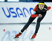 Subject: Mihaela Hogas; Tags: Sport, ROU, Romania, Rumänien, Mihaela Hogas, Eisschnelllauf, Speed skating, Schaatsen, Damen, Ladies, Frau, Mesdames, Female, Women, Athlet, Athlete, Sportler, Wettkämpfer, Sportsman; PhotoID: 2018-03-09-0653