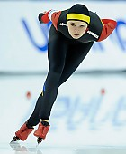 Subject: Mihaela Hogas; Tags: Sport, ROU, Romania, Rumänien, Mihaela Hogas, Eisschnelllauf, Speed skating, Schaatsen, Damen, Ladies, Frau, Mesdames, Female, Women, Athlet, Athlete, Sportler, Wettkämpfer, Sportsman; PhotoID: 2018-03-09-0654