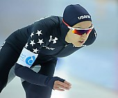 Subject: Jamie Nielson; Tags: USA, United States, Vereinigte Staaten von Amerika, Sport, Jamie Nielson, Eisschnelllauf, Speed skating, Schaatsen, Damen, Ladies, Frau, Mesdames, Female, Women, Athlet, Athlete, Sportler, Wettkämpfer, Sportsman; PhotoID: 2018-03-10-0065