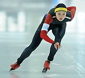 Subject: Mihaela Hogas; Tags: Sport, ROU, Romania, Rumänien, Mihaela Hogas, Eisschnelllauf, Speed skating, Schaatsen, Damen, Ladies, Frau, Mesdames, Female, Women, Athlet, Athlete, Sportler, Wettkämpfer, Sportsman; PhotoID: 2018-03-10-0127
