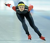 Subject: Mihaela Hogas; Tags: Sport, ROU, Romania, Rumänien, Mihaela Hogas, Eisschnelllauf, Speed skating, Schaatsen, Damen, Ladies, Frau, Mesdames, Female, Women, Athlet, Athlete, Sportler, Wettkämpfer, Sportsman; PhotoID: 2018-03-10-0129