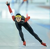 Subject: Mihaela Hogas; Tags: Sport, ROU, Romania, Rumänien, Mihaela Hogas, Eisschnelllauf, Speed skating, Schaatsen, Damen, Ladies, Frau, Mesdames, Female, Women, Athlet, Athlete, Sportler, Wettkämpfer, Sportsman; PhotoID: 2018-03-10-0130