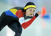 Subject: Mihaela Hogas; Tags: Sport, ROU, Romania, Rumänien, Mihaela Hogas, Eisschnelllauf, Speed skating, Schaatsen, Damen, Ladies, Frau, Mesdames, Female, Women, Athlet, Athlete, Sportler, Wettkämpfer, Sportsman; PhotoID: 2018-03-10-0131