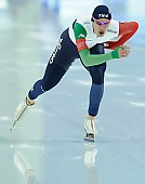 Subject: Francesco Betti; Tags: Sport, ITA, Italy, Italien, Herren, Men, Gentlemen, Mann, Männer, Gents, Sirs, Mister, Francesco Betti, Eisschnelllauf, Speed skating, Schaatsen, Athlet, Athlete, Sportler, Wettkämpfer, Sportsman; PhotoID: 2018-03-10-0388