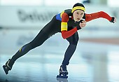 Subject: Andreea Haldan; Tags: Sport, ROU, Romania, Rumänien, Eisschnelllauf, Speed skating, Schaatsen, Damen, Ladies, Frau, Mesdames, Female, Women, Athlet, Athlete, Sportler, Wettkämpfer, Sportsman, Andreea Haldan; PhotoID: 2018-03-10-0496