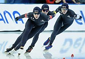 Subject: Casey Dawson, Conor Mcdermott-Mostowy, Ethan Cepuran; Tags: USA, United States, Vereinigte Staaten von Amerika, Team, Team Pursuit, Mannschaftslauf, Verfolgungsrennen, Jagdrennen, Mannschaftsverfolgung, Teamverfolgung, Sport, Herren, Men, Gentlemen, Mann, Männer, Gents, Sirs, Mister, Ethan Cepuran, Eisschnelllauf, Speed skating, Schaatsen, Detail, Conor Mcdermott-Mostowy, Casey Dawson, Athlet, Athlete, Sportler, Wettkämpfer, Sportsman; PhotoID: 2018-03-11-0149
