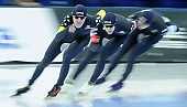 Subject: Casey Dawson, Conor Mcdermott-Mostowy, Ethan Cepuran; Tags: USA, United States, Vereinigte Staaten von Amerika, Team, Team Pursuit, Mannschaftslauf, Verfolgungsrennen, Jagdrennen, Mannschaftsverfolgung, Teamverfolgung, Sport, Herren, Men, Gentlemen, Mann, Männer, Gents, Sirs, Mister, Feature, Feature, Ethan Cepuran, Eisschnelllauf, Speed skating, Schaatsen, Detail, Conor Mcdermott-Mostowy, Casey Dawson, Athlet, Athlete, Sportler, Wettkämpfer, Sportsman; PhotoID: 2018-03-11-0173