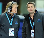 Subject: Nick Thometz, Susan Sandvig-Shobe; Tags: Susan Sandvig-Shobe, Sport, Nick Thometz, Kampfrichter, Referee, Schiedsrichter, Unparteiischer, Punktrichter, Schiri, Umpire, Impartial arbitrator, Eisschnelllauf, Speed skating, Schaatsen; PhotoID: 2018-03-11-0236