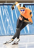 Subject: Sterre van der Rhee; Tags: Sterre van der Rhee, Sport, NED, Netherlands, Niederlande, Holland, Dutch, Eisschnelllauf, Speed skating, Schaatsen, Daria Kamelkova, Damen, Ladies, Frau, Mesdames, Female, Women, Athlet, Athlete, Sportler, Wettkämpfer, Sportsman; PhotoID: 2018-10-27-0197