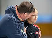Subject: Jan Coopmans; Tags: Trainer, Coach, Betreuer, Sport, Jan Coopmans, GER, Germany, Deutschland, Eisschnelllauf, Speed skating, Schaatsen, Daria Kamelkova; PhotoID: 2018-10-27-0395
