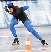 Subject: Nicole Kowalewskij; Tags: Sport, Nicole Kowalewskij, GER, Germany, Deutschland, Eisschnelllauf, Speed skating, Schaatsen, Daria Kamelkova, Damen, Ladies, Frau, Mesdames, Female, Women, Athlet, Athlete, Sportler, Wettkämpfer, Sportsman; PhotoID: 2018-10-27-1374