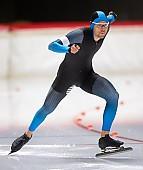 Subject: Paul Galczinsky; Tags: Paul Galczinsky, Herren, Men, Gentlemen, Mann, Männer, Gents, Sirs, Mister, GER, Germany, Deutschland, Eisschnelllauf, Speed skating, Schaatsen, Daria Kamelkova, Athlet, Athlete, Sportler, Wettkämpfer, Sportsman, Sport; PhotoID: 2018-11-02-0022