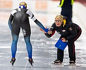 Subject: Gunda Niemann-Stirnemann, Victoria Stirnemann; Tags: Victoria Stirnemann, Trainer, Coach, Betreuer, Sport, Gunda Niemann-Stirnemann, GER, Germany, Deutschland, Eisschnelllauf, Speed skating, Schaatsen, Daria Kamelkova, Damen, Ladies, Frau, Mesdames, Female, Women, Athlet, Athlete, Sportler, Wettkämpfer, Sportsman; PhotoID: 2018-11-02-0124