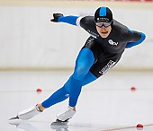Subject: Fridtjof Petzold; Tags: Sport, Herren, Men, Gentlemen, Mann, Männer, Gents, Sirs, Mister, GER, Germany, Deutschland, Fridtjof Petzold, Eisschnelllauf, Speed skating, Schaatsen, Daria Kamelkova, Athlet, Athlete, Sportler, Wettkämpfer, Sportsman; PhotoID: 2018-11-02-0201