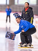Subject: Andreas Behr, Danny Leger; Tags: Trainer, Coach, Betreuer, Sport, Herren, Men, Gentlemen, Mann, Männer, Gents, Sirs, Mister, GER, Germany, Deutschland, Eisschnelllauf, Speed skating, Schaatsen, Ehemalige, Daria Kamelkova, Danny Leger, Athlet, Athlete, Sportler, Wettkämpfer, Sportsman, Andreas Behr; PhotoID: 2018-11-03-0068